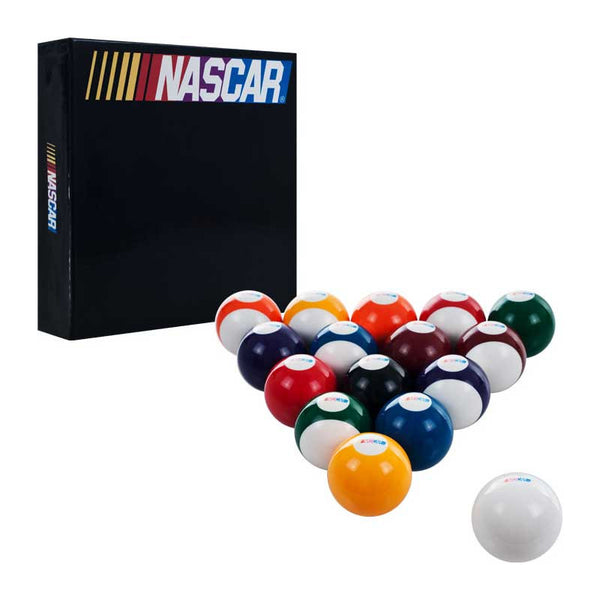 Nascar Billiard Ball Set, Pool Balls, CueStix - Olhausen Online