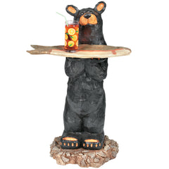 Bear with Tray, Outdoor Decor, Ram Gamerooms - Olhausen Online