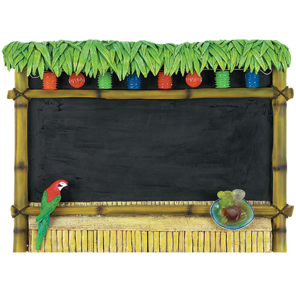 Tiki Bar Chalkboard, Outdoor Decor, Ram Gamerooms - Olhausen Online