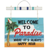 Welcome to Paradise, Outdoor Decor, Ram Gamerooms - Olhausen Online