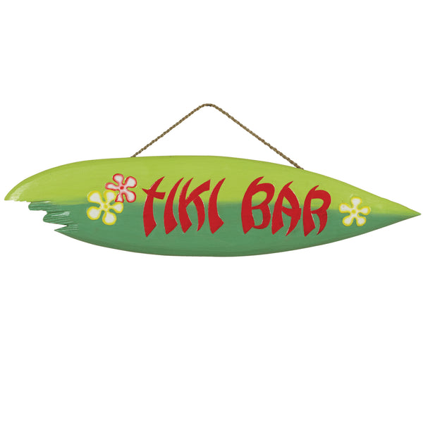 Tiki Bar Surfboard, Outdoor Decor, Ram Gamerooms - Olhausen Online