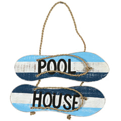 Pool House Flip Flops, Outdoor Decor, Ram Gamerooms - Olhausen Online
