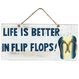 Life is Better in Flip Flops, Outdoor Decor, Ram Gamerooms - Olhausen Online