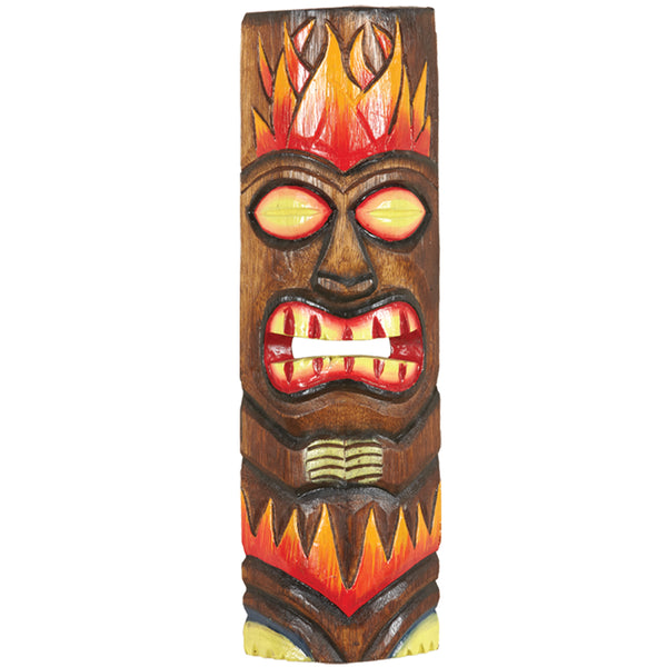 Small Fire Tiki Mask, Outdoor Decor, Ram Gamerooms - Olhausen Online