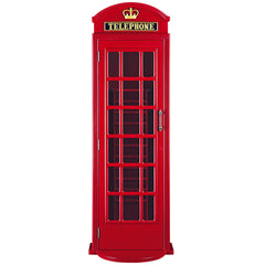 Old English Telephone Booth Cue Holder, Cue Stand, Ram Gamerooms - Olhausen Online