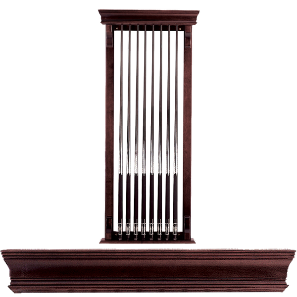 Olhausen Eclipse One Piece 8 Cue Rack, Cue Rack, Olhausen Billiards - Olhausen Online