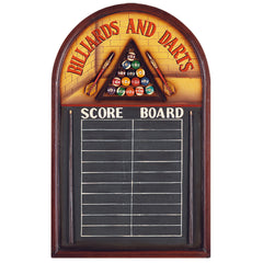 Billiards & Darts Chalkboard