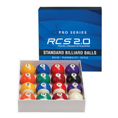 Pro Series Standard Billiard Ball Set, Pool Balls, Cue and Case - Olhausen Online