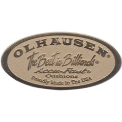 Olhausen Oval Nameplates, Pool Table Parts, Olhausen Billiards - Olhausen Online