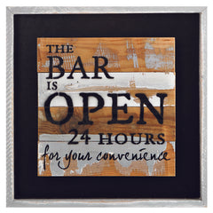 Bar Is Open 24Hr LED