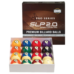 Speed Luster Pro Premium Ball Set, Pool Balls, Cue and Case - Olhausen Online
