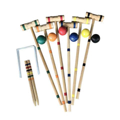 Deluxe Croquet Set, Outdoor Games, Playcraft - Olhausen Online