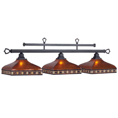"56"" Tahoe 3 Shade Billiard Light, Billiard Lighting, Ram Gamerooms - Olhausen Online"