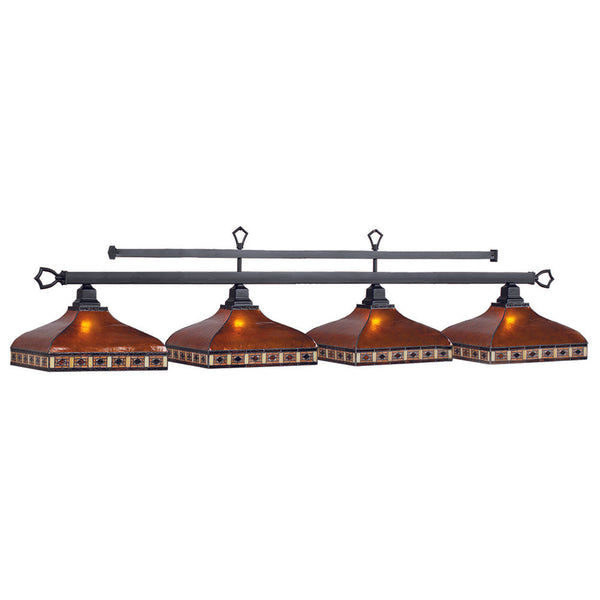 Tahoe 4 Shade Billiard Light, Billiard Lighting, Ram Gamerooms - Olhausen Online