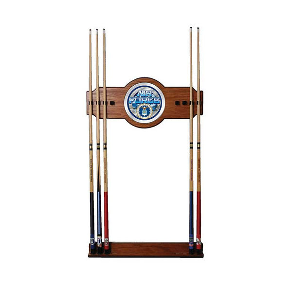 U.S. Air Force Cue Rack with Mirror, Cue Rack, TradeMark - Olhausen Online