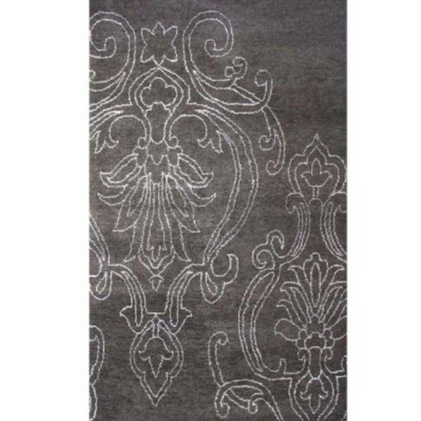 Bay Arbor Brown Hand Knotted, Contemporary Rugs, Meva - Olhausen Online