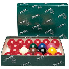 Aramith Belgian Regulation Snooker Set, Snooker Balls, CueStix - Olhausen Online