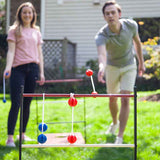 2-In-1 Cornhole Ladder Ball Toss, Outdoor Games, Sport-Squad - Olhausen Online