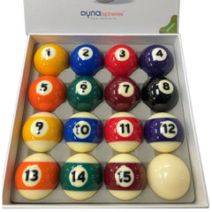 DynaSphere Bronze Pool Ball Set
