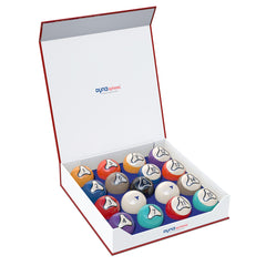 DynaSphere Platinum Pool Ball Set w/ Racks, Pool Balls, Championship - Olhausen Online