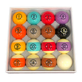 DynaSphere Tungsten Pool Ball Set, Pool Balls, Championship - Olhausen Online