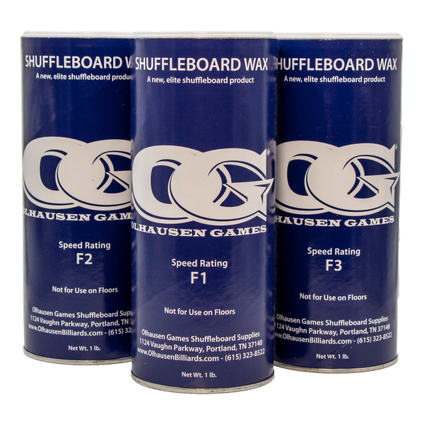 Olhausen Billiards Shuffleboard Wax, Shuffleboard Accessories, Olhausen Billiards - Olhausen Online