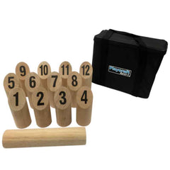 Hardwood Number KUBB Game Set, Outdoor Games, Playcraft - Olhausen Online