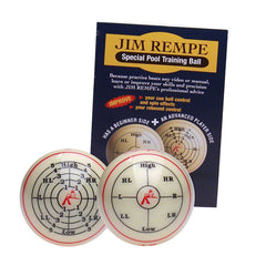 Jim Rempe Training Ball, Billiard Balls, CueStix - Olhausen Online