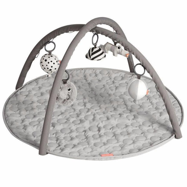 Baby playmat/playgym Done by Deer in grey.