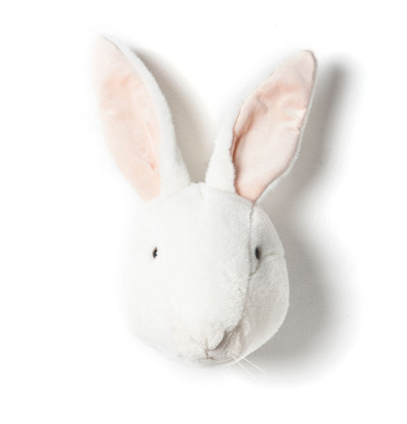 Alice White Rabbit - Plush Wall Decor - Angus & Dudley Collections