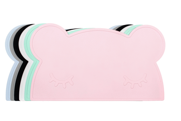 Bear Placie - Powder Pink - Angus & Dudley Collections