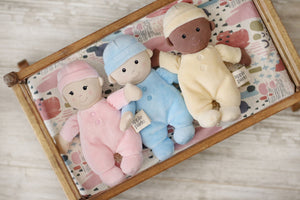 First Baby Doll - Blue - Angus & Dudley Collections