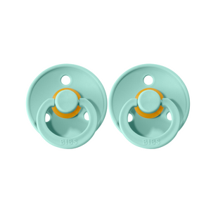 Bibs Colour Dummies - Mint - (2 pack)