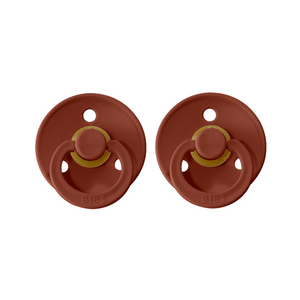 Bibs Colour Dummies - Rust - (2 pack)