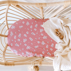 Snuggle Hunny Organic Cotton Bassinet and Change Pad Sheet