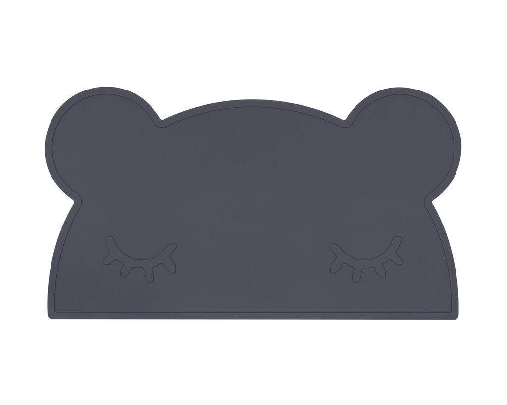 Bear Placie - Charcoal - Angus & Dudley Collections