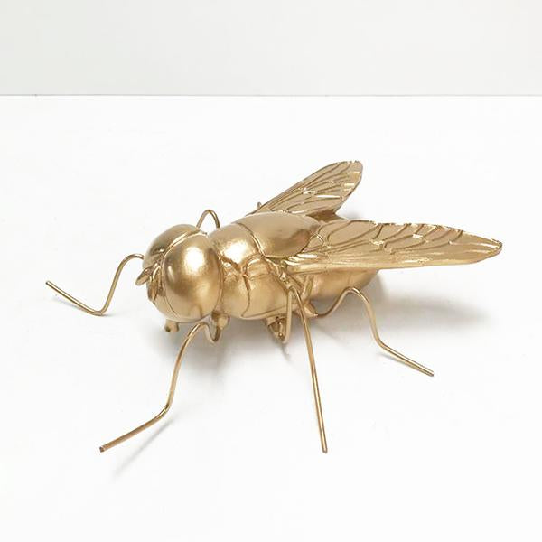 Buzz the Fly Gold Statue