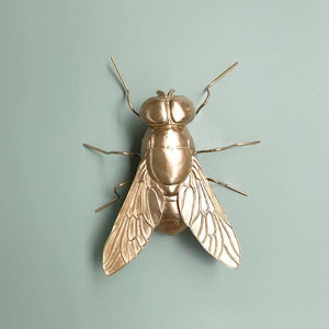Buzz the Fly Gold Statue - Angus & Dudley Collections