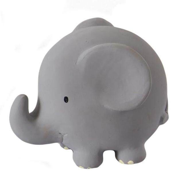 Elephant Rattle/Teether - Angus & Dudley Collections