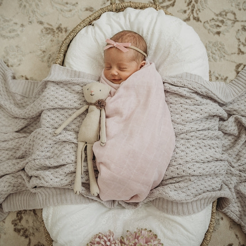Organic Muslin Wrap - Fairytale - Angus & Dudley Collections