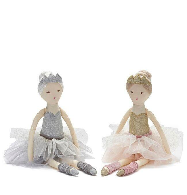 Nana Huchy Betty Ballerina pink fairy rag doll for girls.