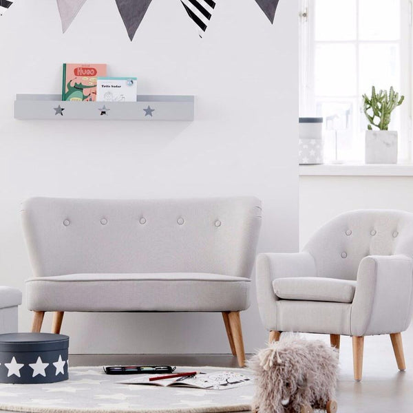 Kids Grey Bookshelf by Kids Concept