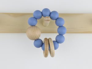 Ring Silicone & Beechwood Teether