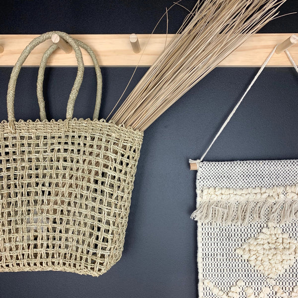 Seagrass Shopping Tote Basket