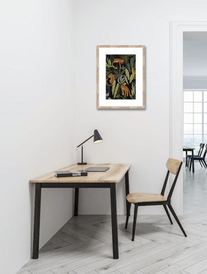 Jungle Tiger Life Wall Art - Angus & Dudley Collections