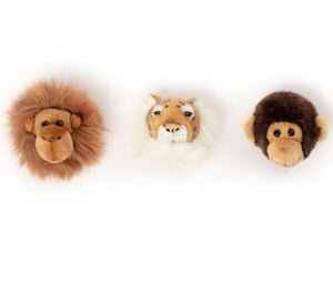 Wild and Soft Jungle Wall Decor - Kids bedroom wall art - Angus & Dudley Collections