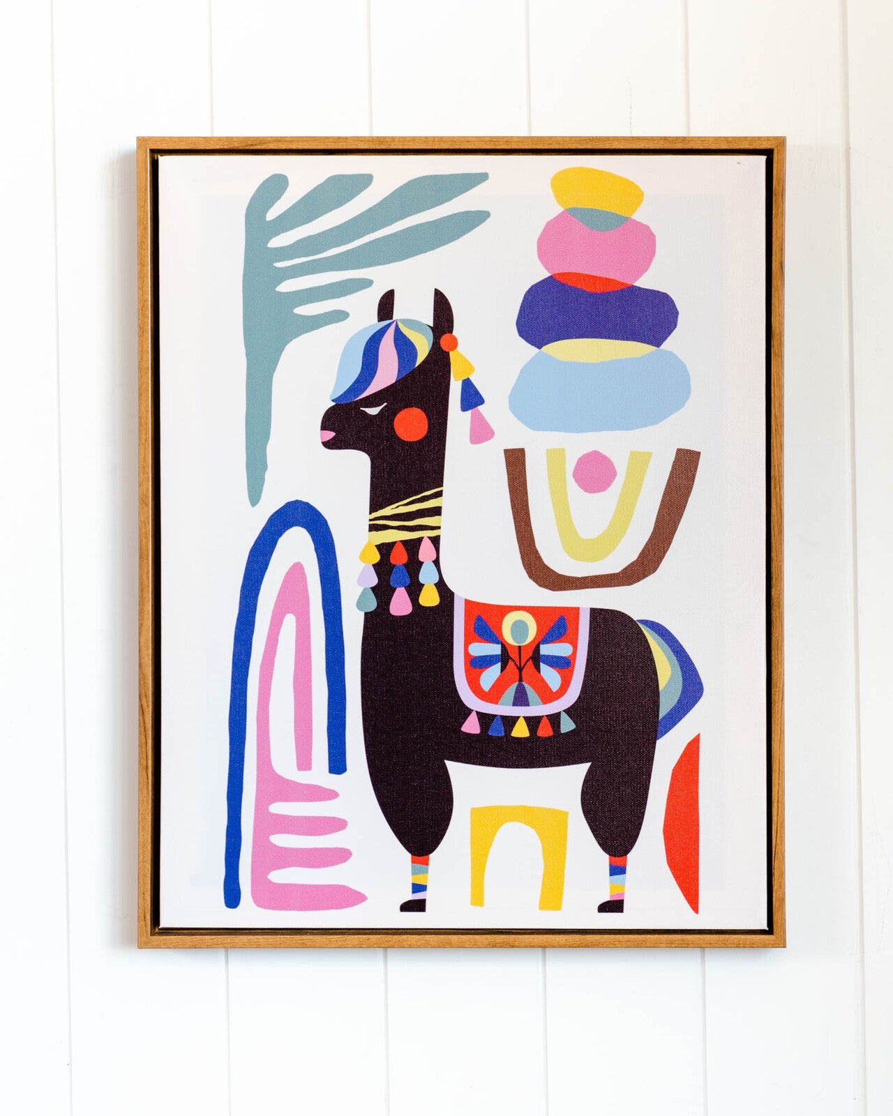Llama Colours Wall Art - Angus & Dudley Collections