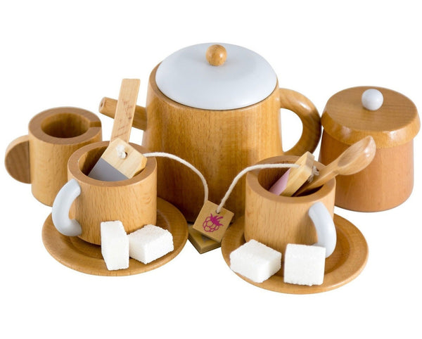 Make Me Iconic Kids Wooden Tea set.