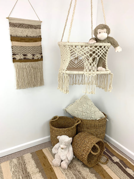 Brown Macrame Wall Decor - Angus & Dudley Collections