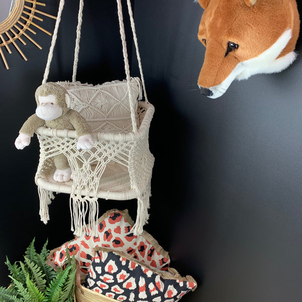 Baby Macrame Swing Chair - Angus & Dudley Collections